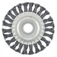 Корщетка дисковая для УШМ крученая Ø 100мм
