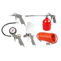 Набор пневмоинструментов FoxWeld Aero (5 предметов)